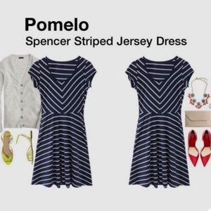 Stitch Fix Market & Spruce Spencer Striped Dress L